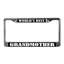 World's Best Grandmother LicenseFrame