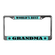 Best Grandma License Plate Frame