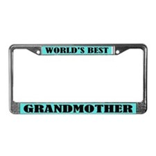 World's Best Grandmother License Frame