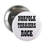 "NORFOLK TERRIERS ROCK 2.25"" Button (10 pack)"
