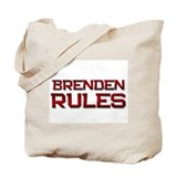 brenden rules Tote Bag