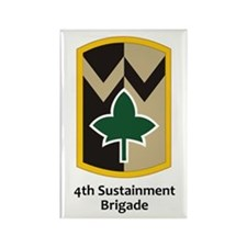 4th Sustainment Brigade Rectangle Magnet (100 pack