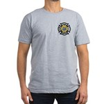 Firefighter Energy Planet Men's Fitted T-Shirt (da