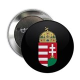 "Coat of Arms of Hungary 2.25"" Button"