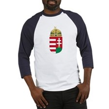 Hungary Coat of Arms Baseball Jersey