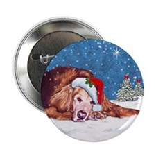 Golden Retriever Button
