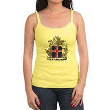Iceland Coat of Arms Jr.Spaghetti Strap