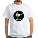 Flag Map of India Shirt