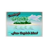 Greetings Rectangle Magnet (10 pack)