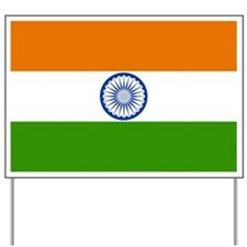 India Flag Yard Sign