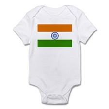 India Flag Infant Bodysuit