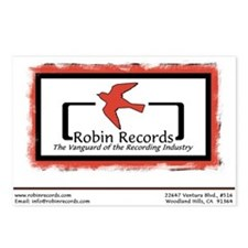 Robin Records Postcards (8)
