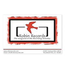 Robin Records Postcards (8)