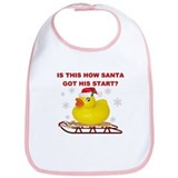 sLeDDiNg dUcK! Bib