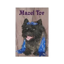 Jewish Cairn Terrier? Rectangle Magnet