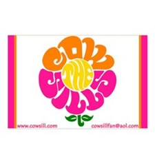 Cowsill Logo (Brights) Postcards (8)