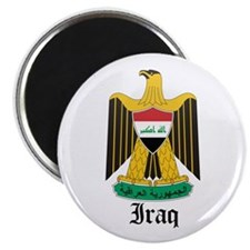 Iraqi Coat of Arms Seal Magnet