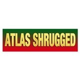 ATLAS SHRUGGED bumper sticker