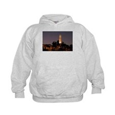 Coit Tower at Night Hoodie