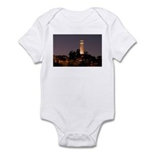Coit Tower at Night Infant Bodysuit