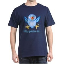 Bluebirds are Birds of Happiness T-Shirt