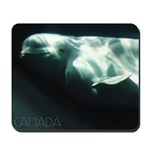 Canada Souvenir Beluga Whale Mousepad