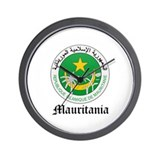 Martiniquais Coat of Arms Sea Wall Clock