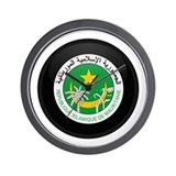 Coat of Arms of Mauritania Wall Clock