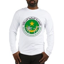 Mauritania Coat of Arms Long Sleeve T-Shirt