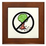 """No Chopping"" Framed Tile"