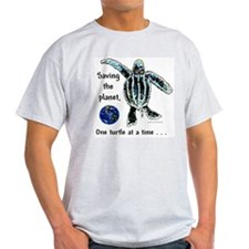 Earth & Sea Turtle Day T-Shirt