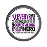 HERO Comes Along 1 Boyfriend PC Wall Clock