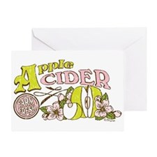 Apple Cider Greeting Card