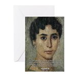 Wisdom of Greece: Hypatia Greeting Cards (Package