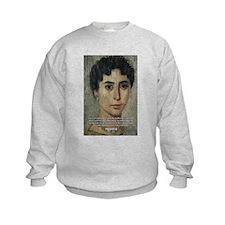 Wisdom of Greece: Hypatia Kids Sweatshirt