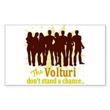 Volturi Don't Stand A Chance Rectangle Decal