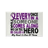 HERO Comes Along 1 Aunt PC Rectangle Magnet