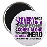 HERO Comes Along 1 Aunt PC Magnet
