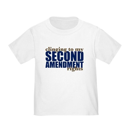 Clinging To My 2nd Rights Toddler T-Shirt