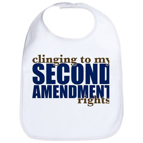 Clinging To My 2nd Rights Bib