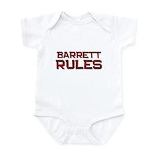 barrett rules Infant Bodysuit
