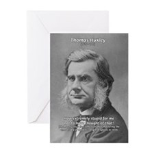 Thomas Huxley and Darwin Greeting Cards (Package o