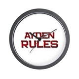 ayden rules Wall Clock