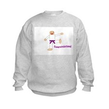 Purple Belt Congratulations Sweatshirt