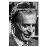 Humanist Aldous Huxley Large Poster