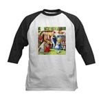 ALICE & THE QUEEN OF HEARTS Kids Baseball Jersey