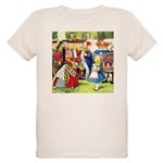ALICE & THE QUEEN OF HEARTS Organic Kids T-Shirt