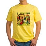 ALICE & THE QUEEN OF HEARTS Yellow T-Shirt