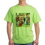 ALICE & THE QUEEN OF HEARTS Green T-Shirt