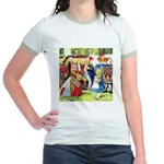 ALICE & THE QUEEN OF HEARTS Jr. Ringer T-Shirt